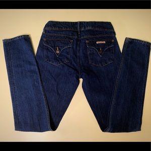 HUDSON Collin Skinny Jeans, Size 28